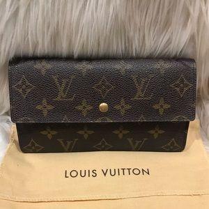 Louis Vuitton Porte Tresor Int'l Long Wallet #4.1L